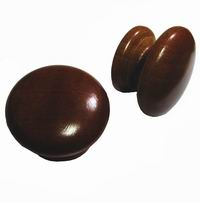 Pine Knobs 57mm Stained Rimu (Polybag  50)