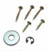 Door Closer Spare Parts / Light Door - Set Of Washers & Screws (1WS81/30)