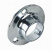 Round Base Flanges 25mm Chrome (carded Pair)