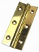 Butt Hinges 1 x 3/8'' Brass / PB / Carded