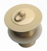 Basin Waste 32mm L/Tail Almond Ivory