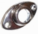 Oval Base Flanges 16mm Chrome (Polybag Pair)