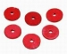 Fibre Tap Washers 19.0mm(3/4'') Flat Red ( 2)