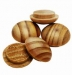 32mm Pine Pin Buttons ( 24)