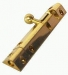 Pyramid Type Bolt 5'' Lacquered Brass (Carded)