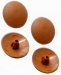 Pozi Drive Screw Cover Caps Rimu/Teak ( 12)