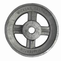 Aluminium V Pulley 5.1/2'' x 1/2'' Bore